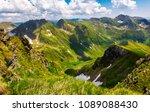 valley with snow in summer...   Shutterstock . vector #1089088430