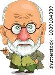 the comic caricature. cartoon.... | Shutterstock .eps vector #1089104339