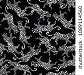 seamless animal print pattern... | Shutterstock .eps vector #1089114560