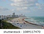 south beach miami in late... | Shutterstock . vector #1089117470