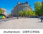 london may 05  2018  street...   Shutterstock . vector #1089119006