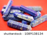 Small photo of Double Terminated Blue-Indigo Lapis Lazuli Healing Crystal. Lapis Lazuli crystal points. Perfect alter or grid stone Metaphysical insights