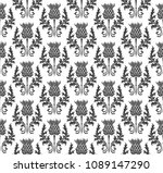 Seamless Pattern Silhouette...