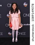 Small photo of LOS ANGELES - MAY 08: Alison Fernandez arrives to the 'Once Upon A Time' Series Finale on May 8, 2018 in Hollywood, CA