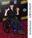 """Small photo of LOS ANGELES - MAY 10: Micah Fowler arrives to the """"Solo: A Star Wars Story"""" World Premiere on May 10, 2018 in Hollywood, CA"""