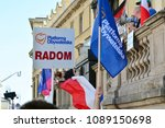 warsaw.polans. 12 may 2018....   Shutterstock . vector #1089150698