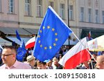 warsaw.polans. 12 may 2018....   Shutterstock . vector #1089150818