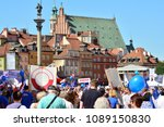 warsaw.polans. 12 may 2018....   Shutterstock . vector #1089150830