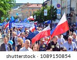 warsaw.polans. 12 may 2018....   Shutterstock . vector #1089150854