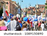 warsaw.polans. 12 may 2018....   Shutterstock . vector #1089150890
