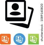selfie picture icon | Shutterstock .eps vector #1089160820