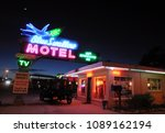 tucumcari  new mexico   march... | Shutterstock . vector #1089162194