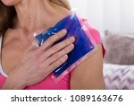 close up of a woman applying... | Shutterstock . vector #1089163676