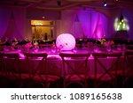 wedding decorations in banquet... | Shutterstock . vector #1089165638