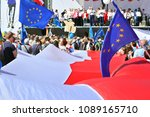 warsaw.polans. 12 may 2018....   Shutterstock . vector #1089165710
