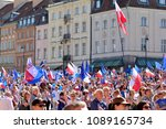 warsaw.polans. 12 may 2018....   Shutterstock . vector #1089165734