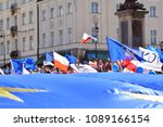 warsaw.polans. 12 may 2018....   Shutterstock . vector #1089166154