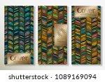 vector set packaging templates... | Shutterstock .eps vector #1089169094