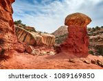 cohab canyon is a popular...   Shutterstock . vector #1089169850