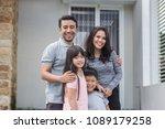 beautiful happy asian family in ... | Shutterstock . vector #1089179258