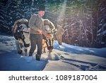 vama  romania  26 january 2018  ... | Shutterstock . vector #1089187004