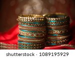 Colorful And Gold Bridal...