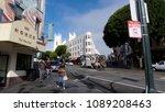 san francisco  february 2014 ...   Shutterstock . vector #1089208463