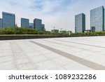 empty road with modern business ... | Shutterstock . vector #1089232286