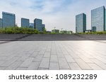 empty road with modern business ... | Shutterstock . vector #1089232289