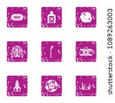 experienced approach icons set. ... | Shutterstock .eps vector #1089263003