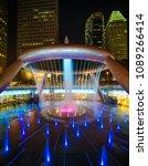 singapore city singapore  ... | Shutterstock . vector #1089266414