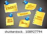 illustration of sale and... | Shutterstock .eps vector #108927794