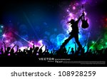 illustration of rock star... | Shutterstock .eps vector #108928259