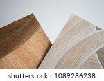 linoleum samples on white... | Shutterstock . vector #1089286238