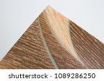 linoleum samples on white... | Shutterstock . vector #1089286250