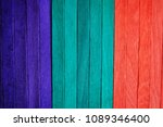colorful wooden texture... | Shutterstock . vector #1089346400