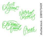 vector illustration. lettering. ... | Shutterstock .eps vector #1089373439