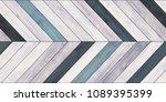 seamless wood parquet texture ... | Shutterstock . vector #1089395399
