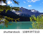 emerald lake  british columbia  ... | Shutterstock . vector #1089397310