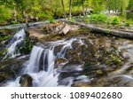 river mi o course with small... | Shutterstock . vector #1089402680