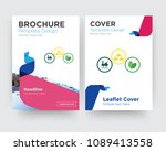 commodities brochure flyer... | Shutterstock .eps vector #1089413558