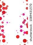 dark blue vertical abstract... | Shutterstock . vector #1089431570