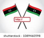libya emblem web address | Shutterstock .eps vector #1089460598