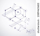 engineering technology vector... | Shutterstock .eps vector #1089465683