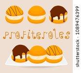 vector illustration logo for... | Shutterstock .eps vector #1089476399