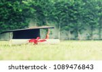 graduate hat and certificated... | Shutterstock . vector #1089476843
