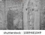 texture of concrete. a wooden... | Shutterstock . vector #1089481049