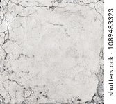cracks on the concrete in the... | Shutterstock . vector #1089483323