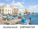 gallipoli  apulia  italy  ... | Shutterstock . vector #1089484769
