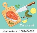 bright vector illustration of... | Shutterstock .eps vector #1089484820